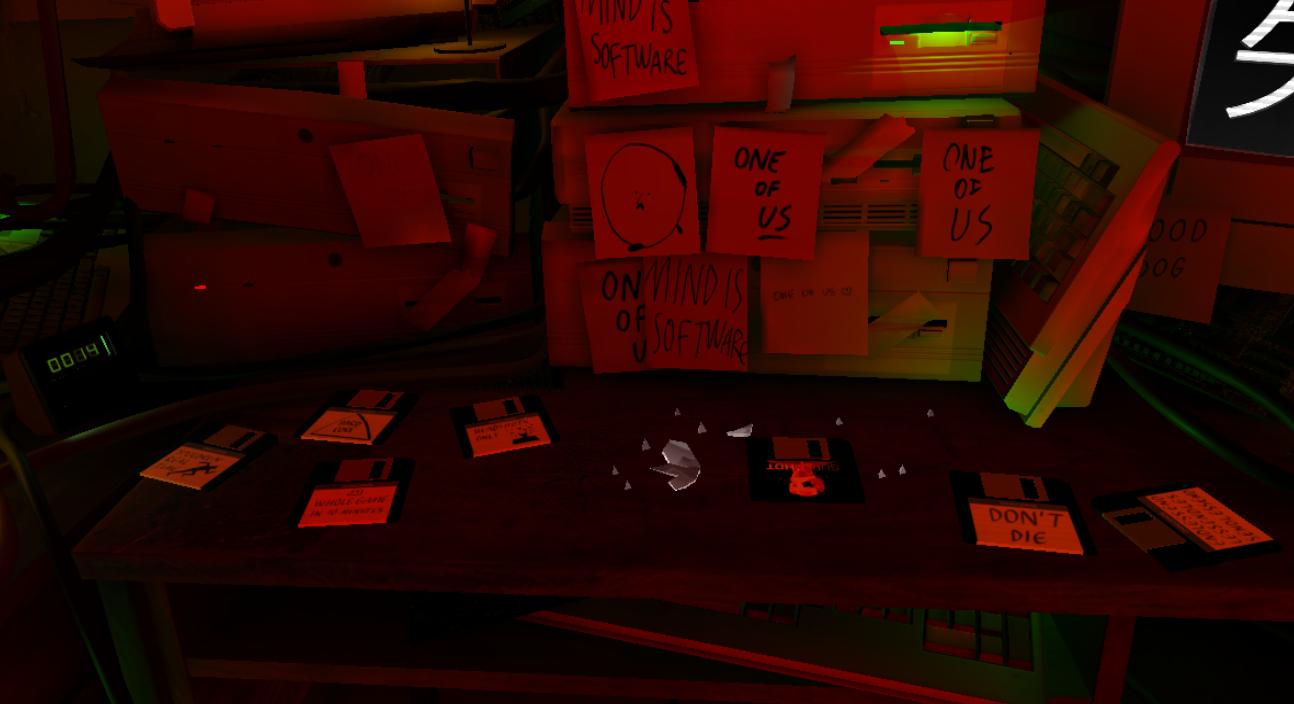 【SUPERHOT VR】で遊べる【ENDLESS】などのモード