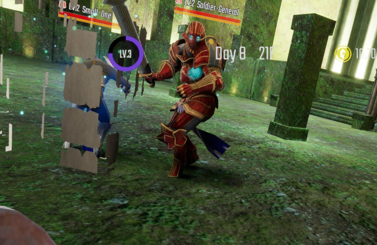 【ソードオブガルガンチュア】攻略 ステージ中盤~後半に現れる強敵の倒し方2