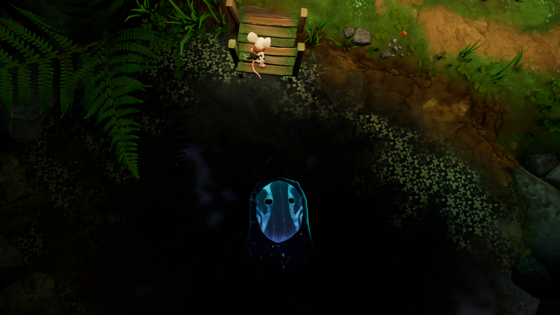 VRゲーム【Moss】自分のポジション設定がしっくりくる