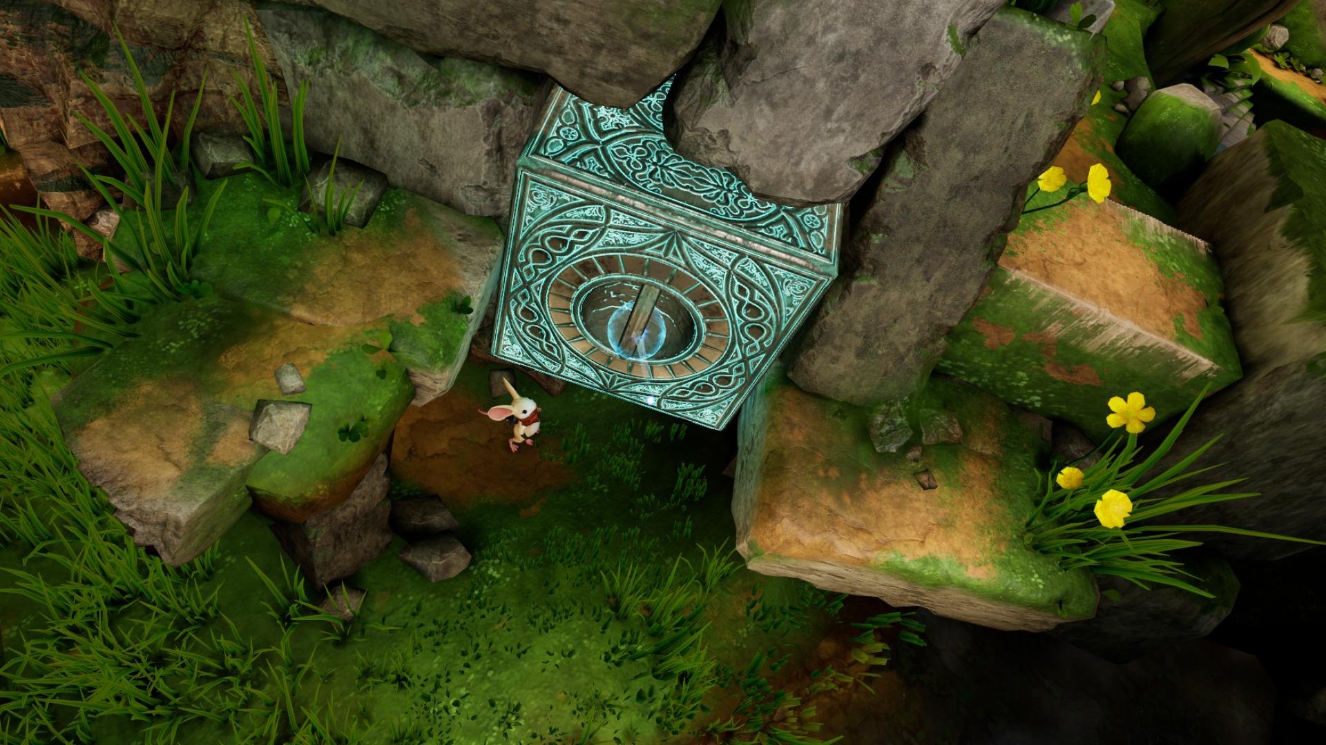 VRゲーム【Moss】ゲーム内容、攻略法1
