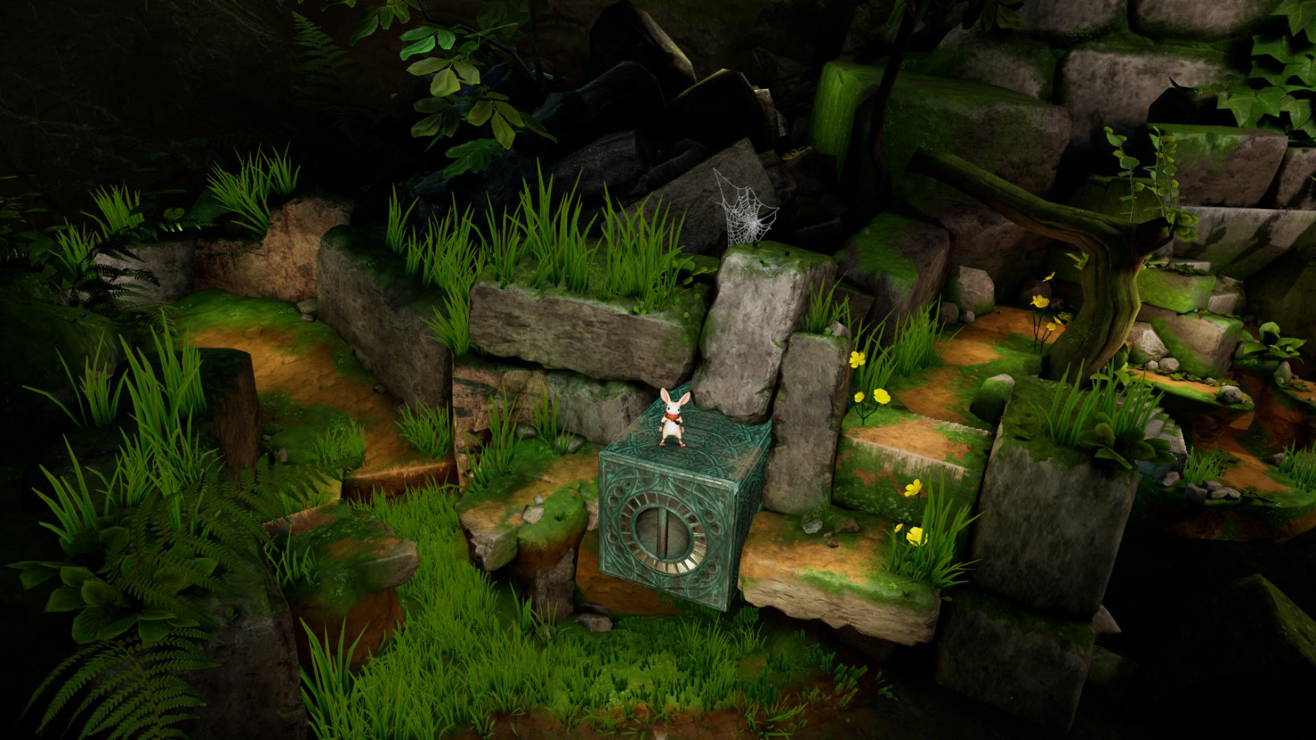 VRゲーム【Moss】ゲーム内容、攻略法2