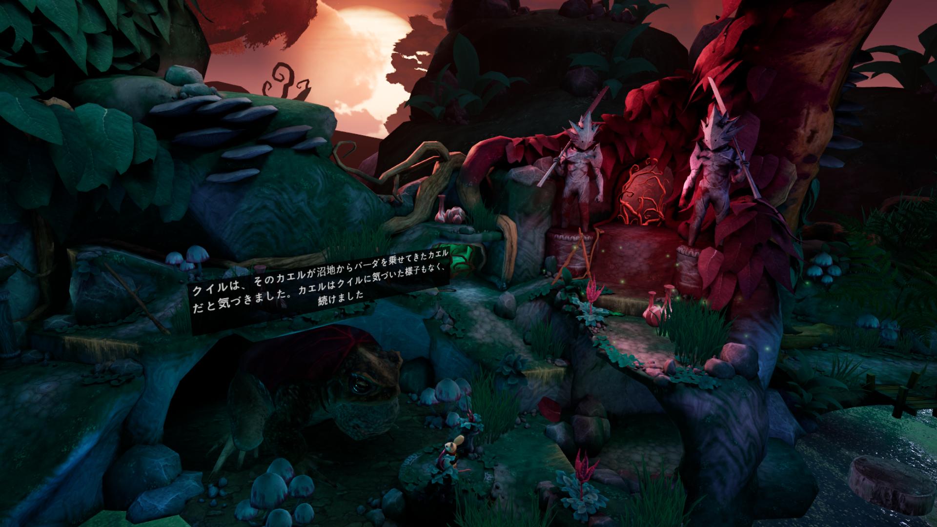 VRゲーム【Moss】幻想的な映像が素晴らしい!
