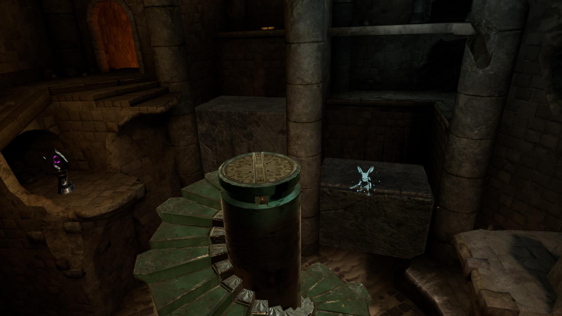 VRゲーム【Moss】パズルがよくできている。難易度もちょーど良い!