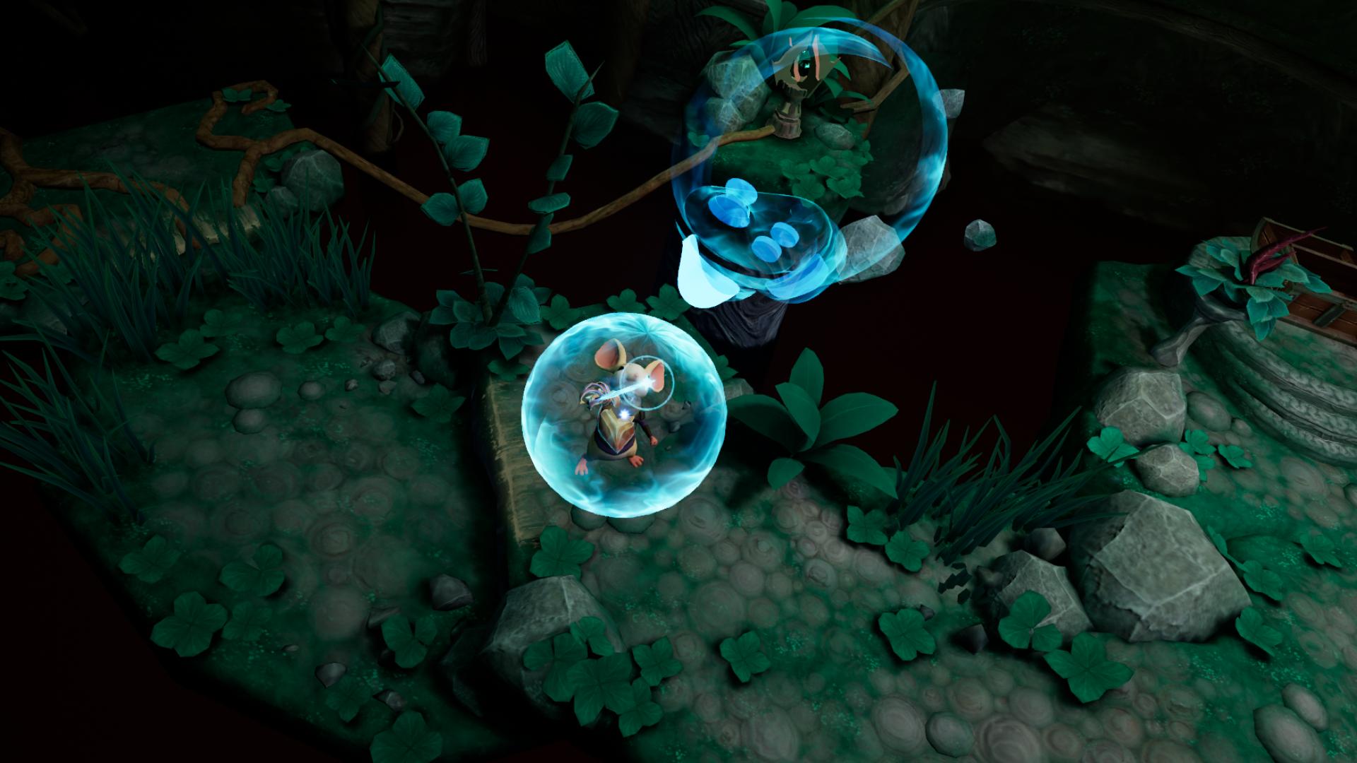 VRゲーム【Moss】自分のポジション設定がしっくりくる2