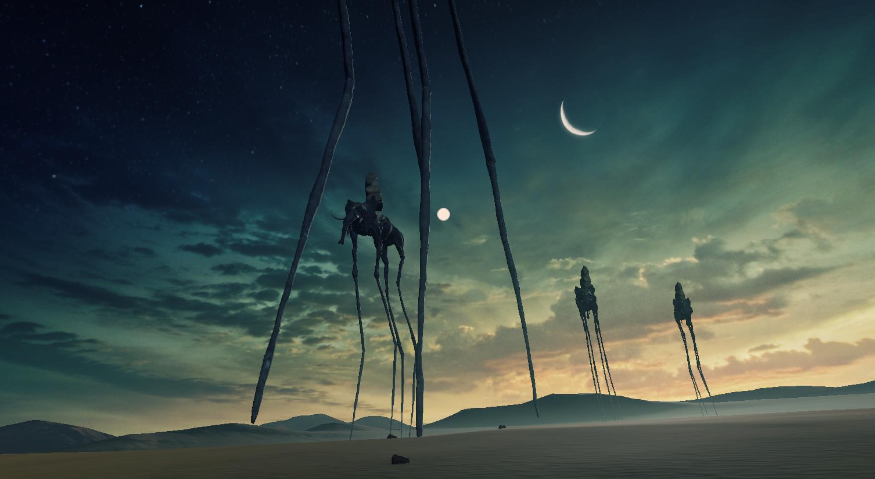 おすすめ無料VR映像アプリ【Dreams of Dali】2