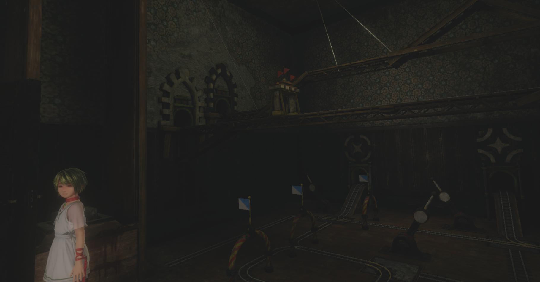 【ラストラビリンス(LAST LABYRINTH)】攻略 電車のレールがしかれた部屋1(愚者の部屋)