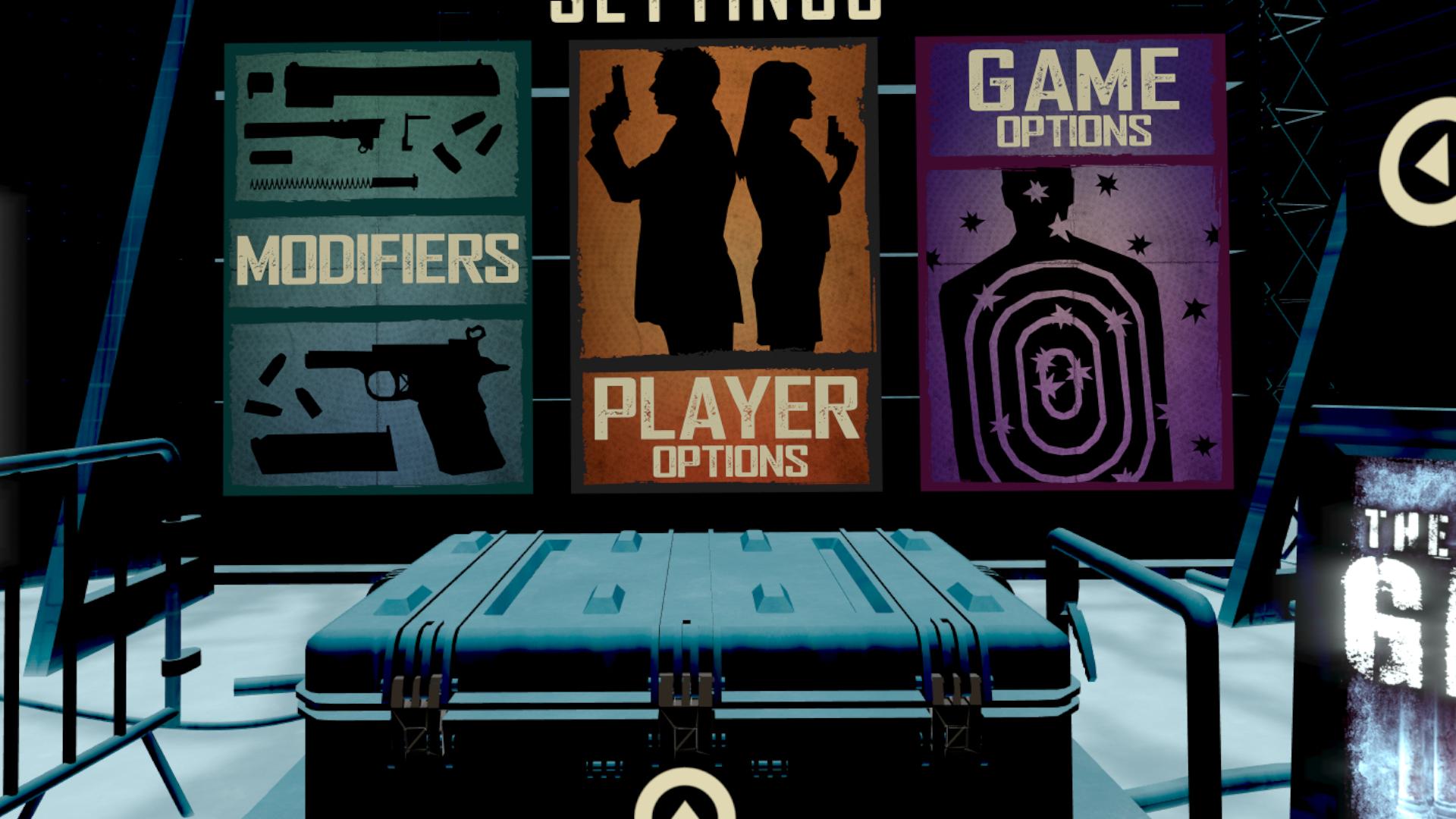 VRゲーム【Pistol Whip】の設定 二丁拳銃にもできる!