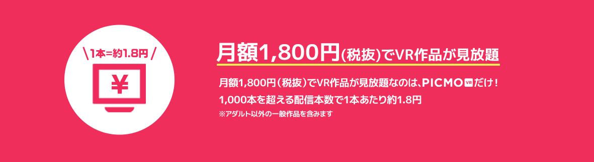 【PICMO VR】とは?