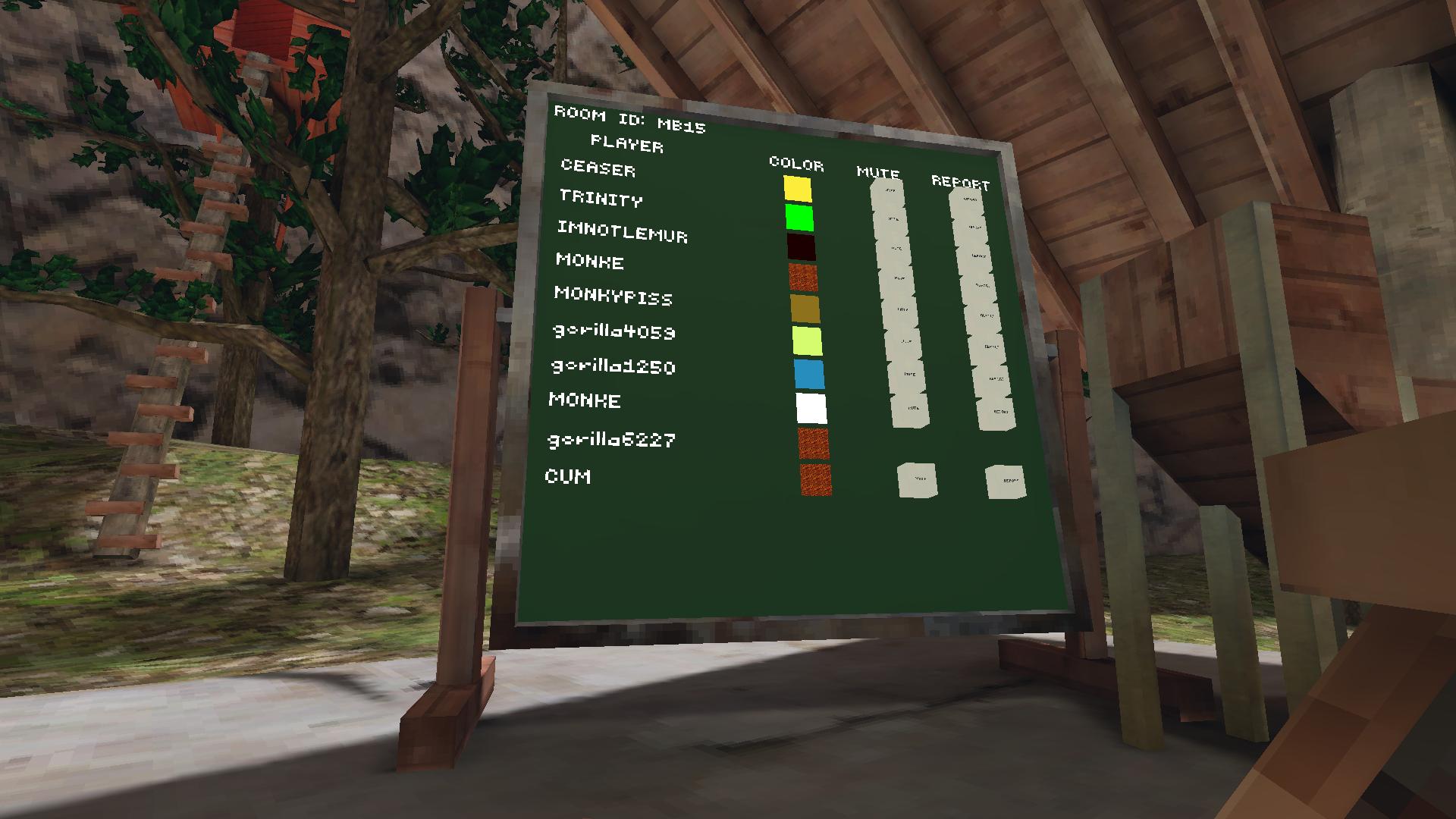 VRゲーム【Gorilla Tag】プレイしてみたので感想レビュー4