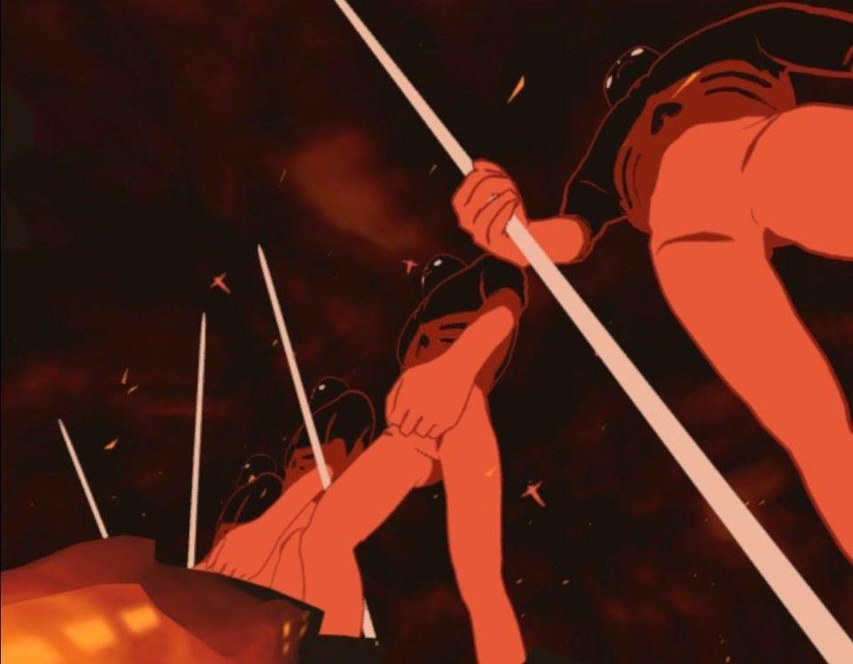 【OculusQuest2】で巨神兵と火の七日間を見る2