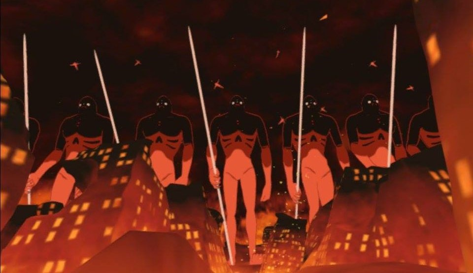 【OculusQuest2】で巨神兵と火の七日間を見る1