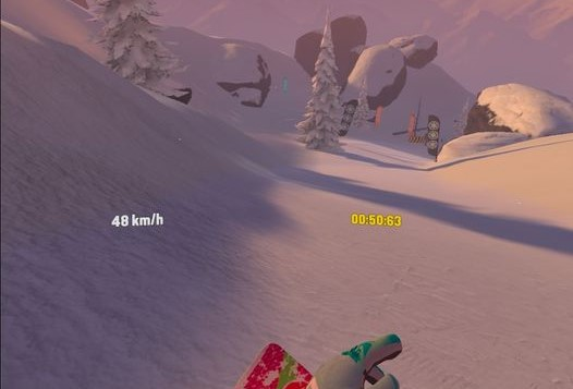 VRゲーム【Carve Snowboarding】攻略のコツ6