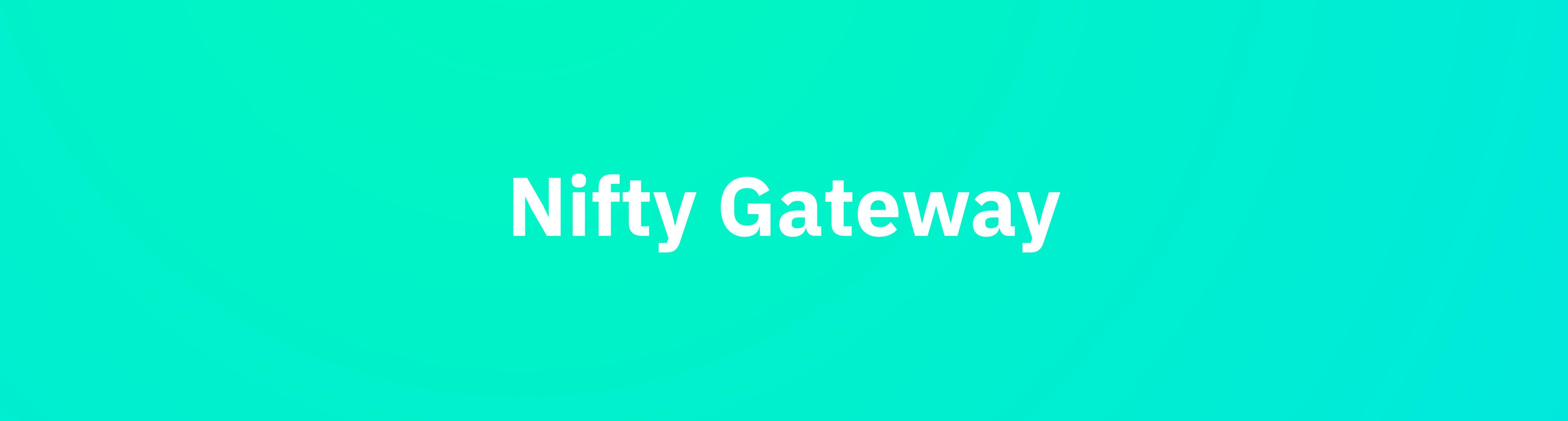 NFTの4大プラットフォーム④『Nifty Gateway』