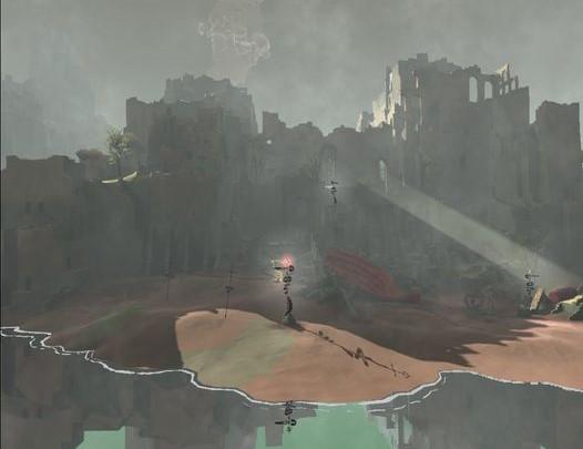 VRゲームmareチャプター2島