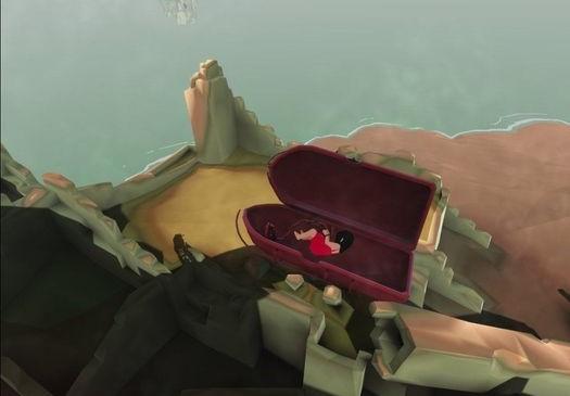 VRゲームmareチャプター2少女