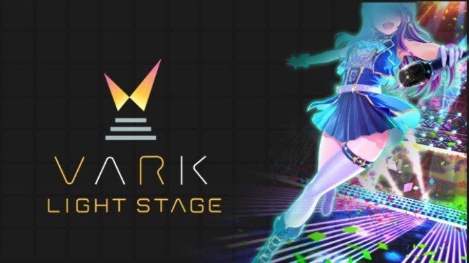 【VARK】のバーチャルライブアプリ「VARK LIGHT STAGE」