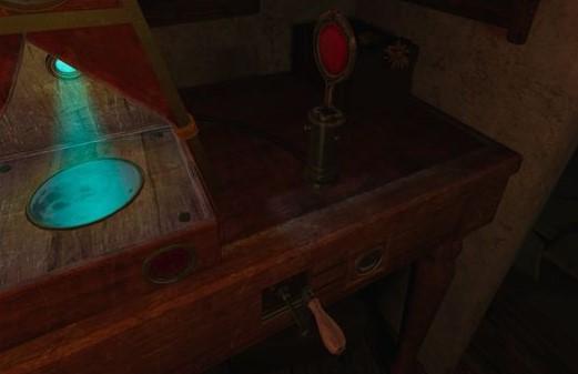 The Room VRクランクと赤い鏡