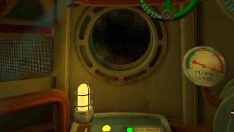 ミッション攻略③ 潜水艦の中