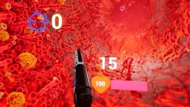 VRゲーム【VRファイトCOVID-19】ウィルスを撃ちまくったら、意外な効果があった《マスクより効く》