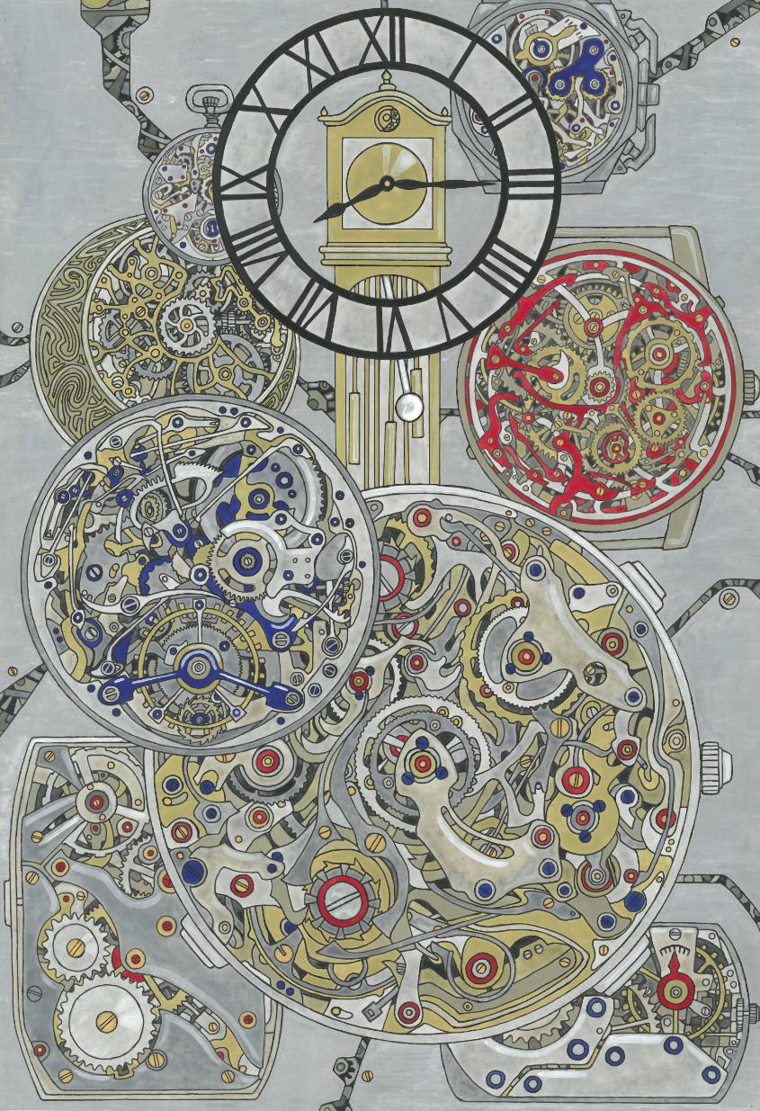 世界中の文化と文様を描く『文化と文様シリーズ』について7