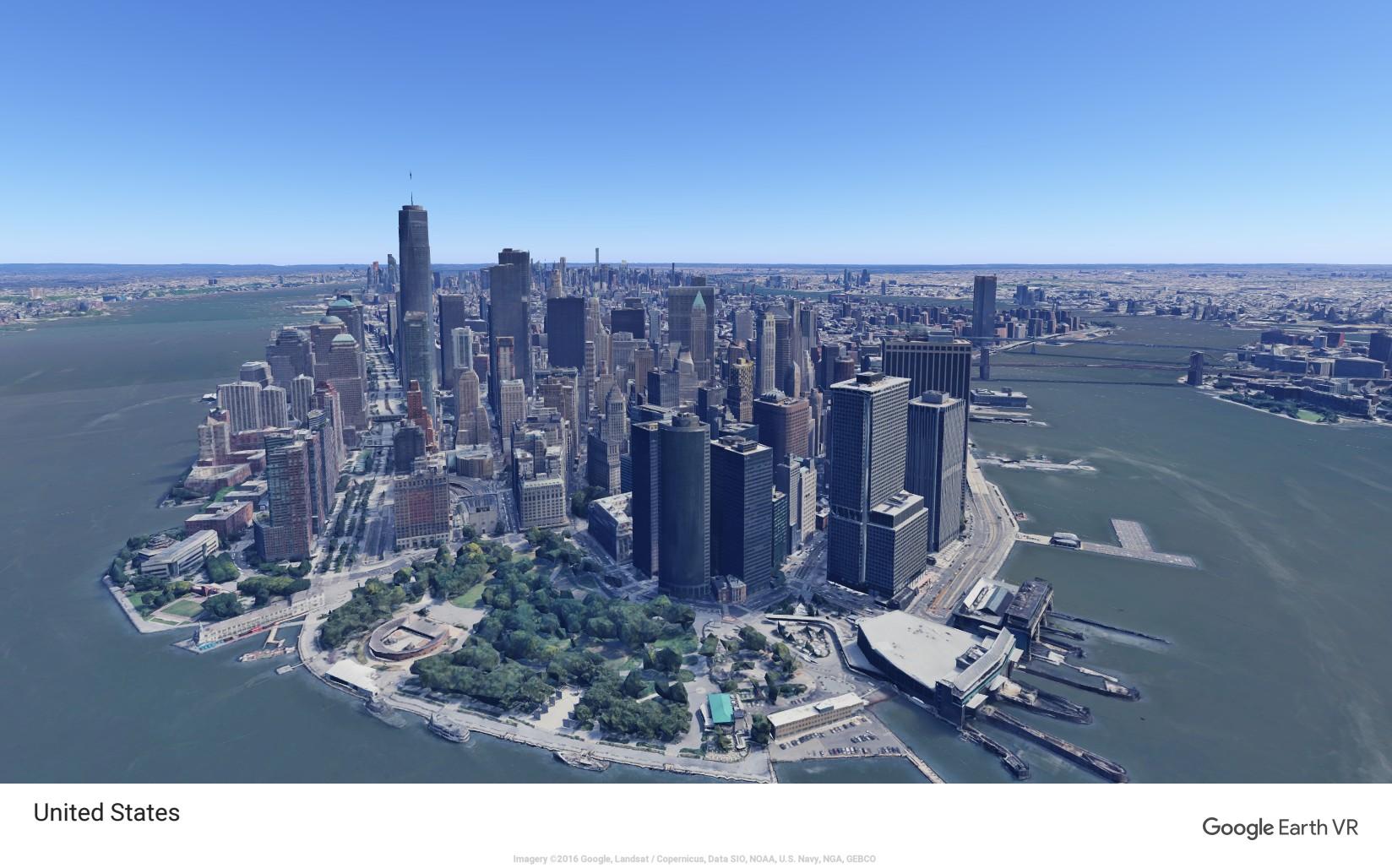 【Google Earth VR】で世界各地へ2