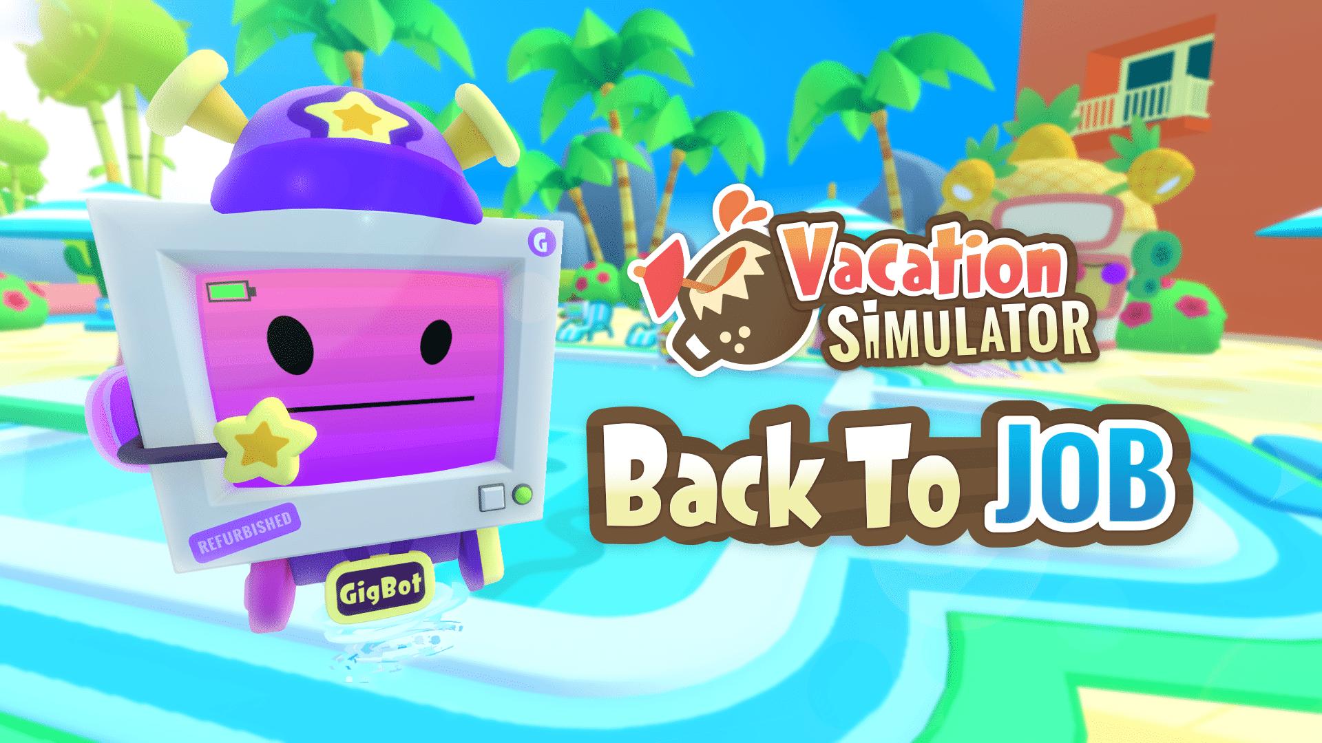 VRゲーム【Vacation Simulator】感想・レビュー
