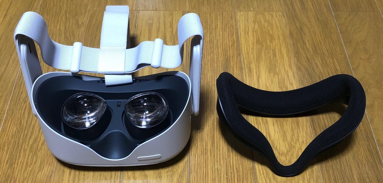 【Quest2】はメガネをつけたまま使える